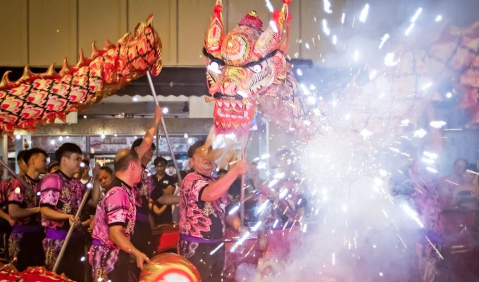 Chinese New Year's Eve Celebrations @ Thekchen Choling